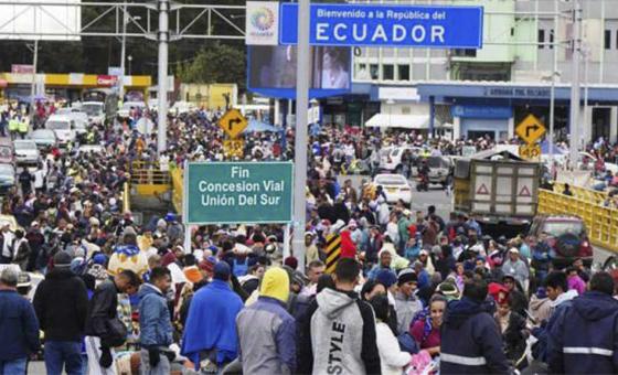 Ecuador renovó estado emergencia en tres provincias por migración venezolana