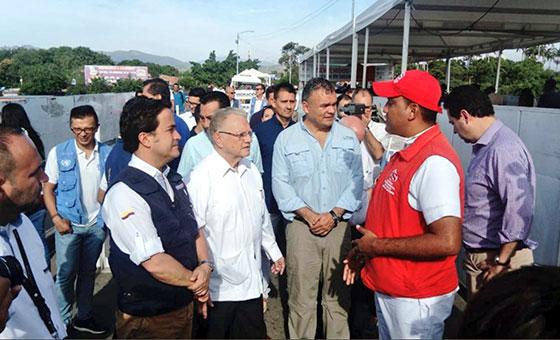 """Enviado de la ONU pidió """"ayuda urgente"""" para atender la ola migratoria venezolana"""