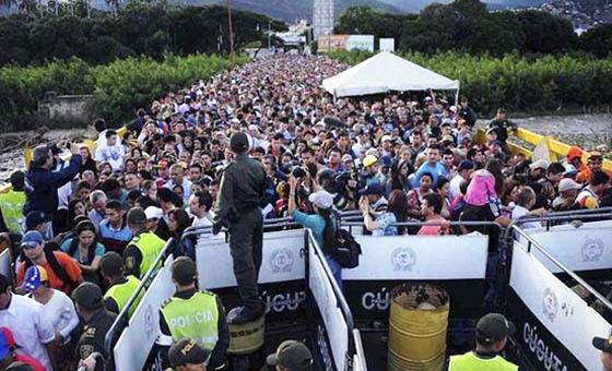 """Duque dice no caerá en """"tentación"""" de cerrar frontera con Venezuela"""