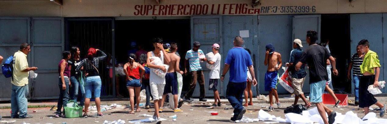 Termómetro de la Calle: Escasez en anaqueles empuja el hambre pero diminuye los saqueos