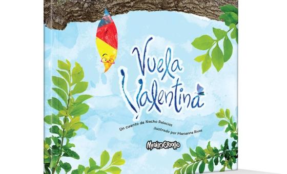 """Meollo Criollo presenta """"Vuela Valentina"""", un cuento con un propósito especial"""