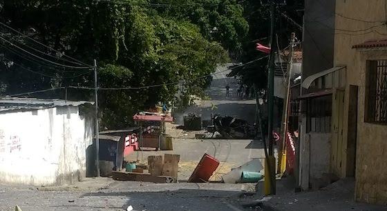 Barricadas en Cotiza