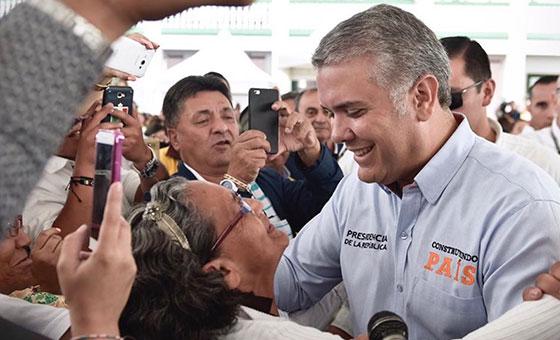Presidente de Colombia: Cúcuta será centro de acopio de ayuda humanitaria para Venezuela