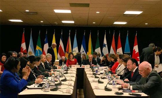 Grupo de Lima rechaza convocatoria de elecciones parlamentarias en Venezuela