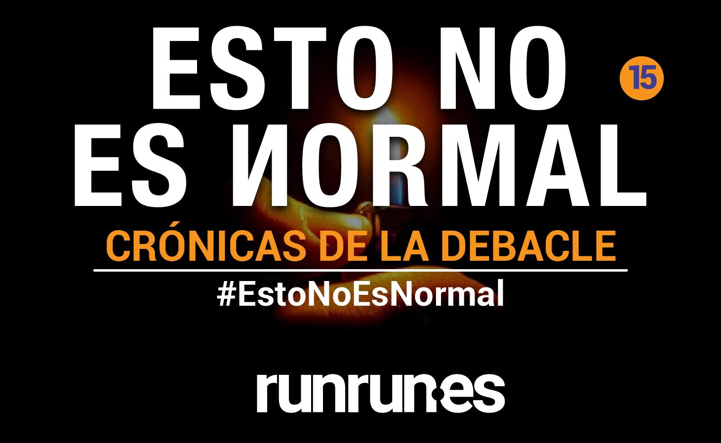 #EstoNoEsNormal | El apagón, la mente y yo, por Diego Arroyo Gil