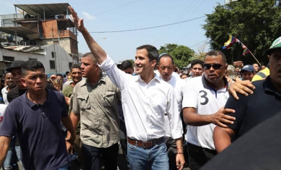 Guaidó desde Vargas: Vamos Venezuela por la Operación Libertad