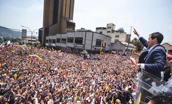 """Guaidó convoca al inicio de la """"Operación Libertad"""""""