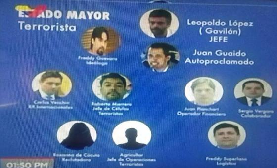 """Jorge Rodríguez: Roberto Marrero era el enlace principal en """"planes terroristas"""""""