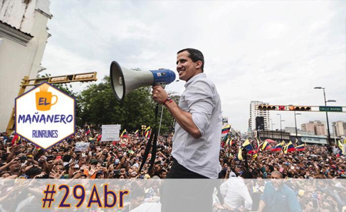 El Mañanero de hoy #29Abr: Las 5 noticias que debes saber