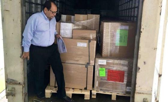 Cruz Roja entregó donación de ayuda humanitaria en Hospital Central de San Cristóbal