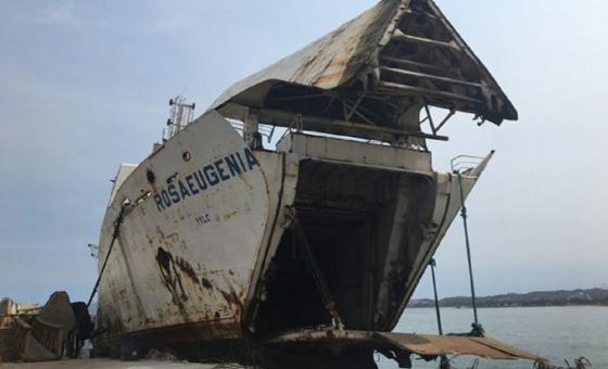 Cuatro ferris oxidados revelan qué pasó con la flota comercial más potente de Venezuela