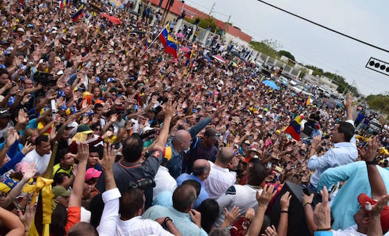 Guaidó en Cabimas