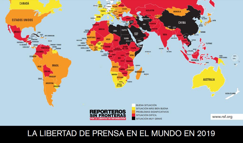 """Reporteros sin Fronteras: """"El autoritarismo de Maduro parece no tener límites"""""""