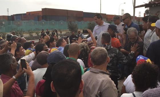 Guaidó convocó a manifestación para este #5deJulio