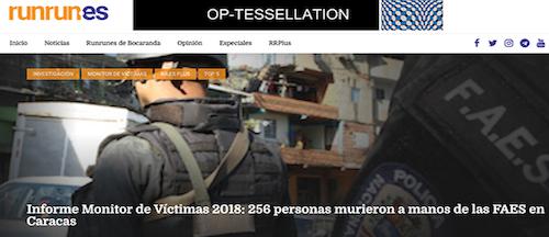 Tras reportaje sobre las FAES, Runrun.es es víctima de ataques cibernéticos