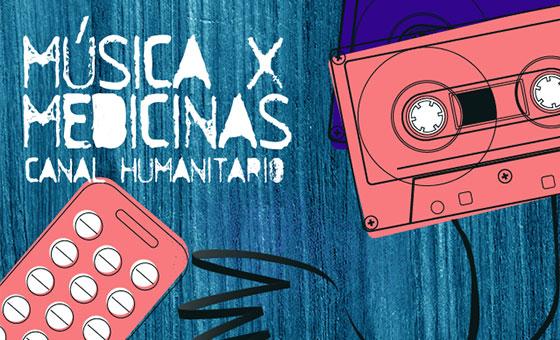 Jornada de Música por Medicinas se realizará en la Sala Cabrujas el próximo #8Jun
