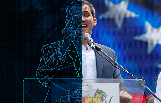 Juan Guaidó: Entre lo real y lo virtual
