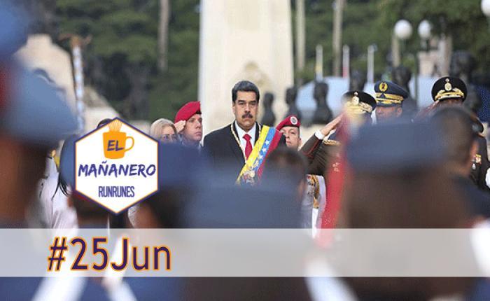 El Mañanero de hoy #25Jun: Las 5 noticias que debes saber
