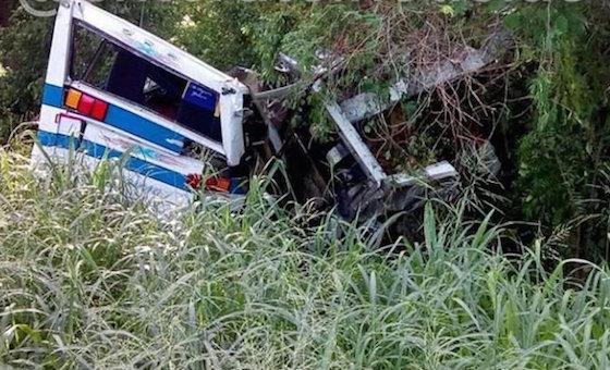 Fatal accidente de autobús dejó 18 muertos en Zulia