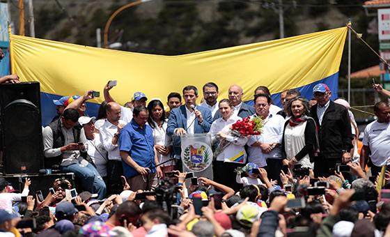 Guaidó desde Mucuchíes: Si pretenden atornillarse en el poder, entonces saldrán por las malas