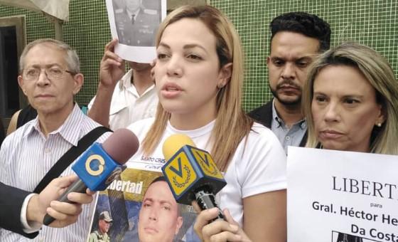 ONG Justicia Venezolana y familiares piden a Bachelet mediar por liberación de presos políticos militares
