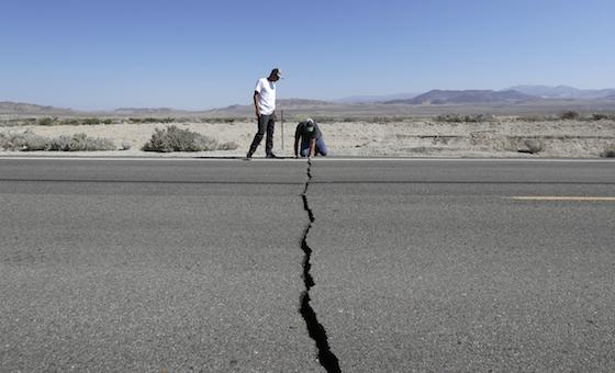 Réplicas de sismo de 7,1 en California podrían durar meses