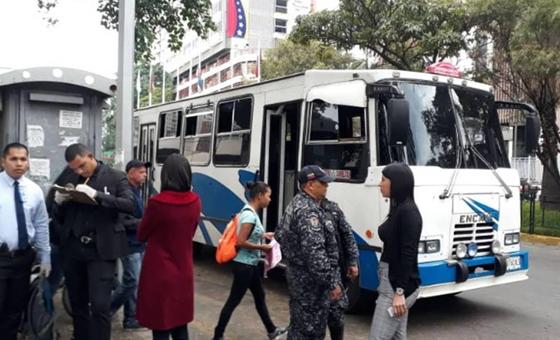#MonitorDeVictimas | Pasajero mata de un tiro en la cabeza a ladrón de autobús en Caracas