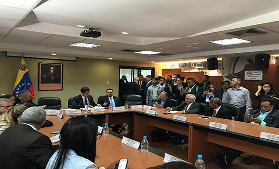 Diputados reciben más denuncias sobre emergencia humanitaria en la AN