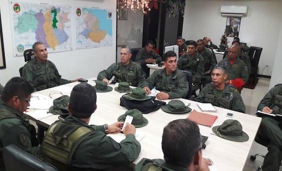 Militares sancionados han sido atornillados en los mandos de la FAN