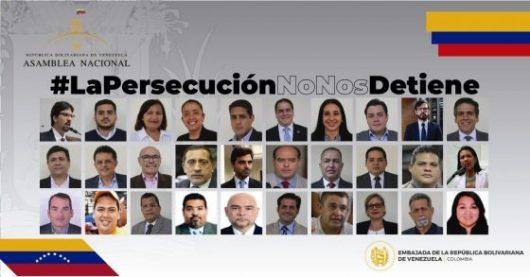 Diputados perseguidos por el régimen de Nicolás Maduro se reunirán en Colombia