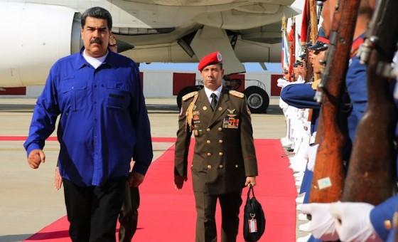 Maduro volvió al país luego de su visita a Rusia