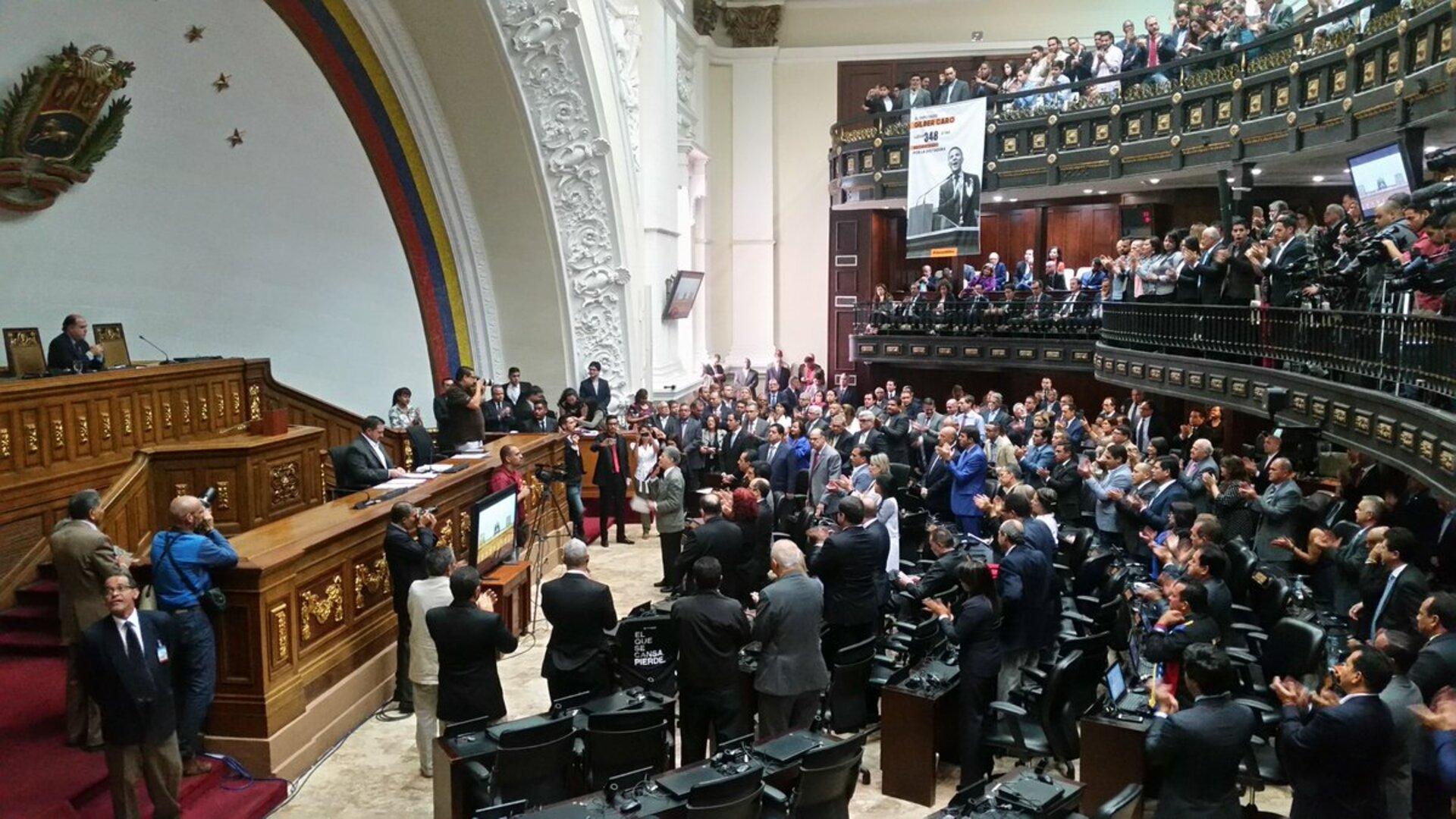 Chavismo se excusa en el desacato para no participar en proceso de renovación del CNE