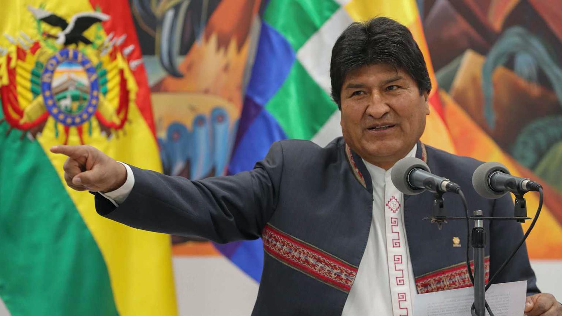 Evo Morales indicó que el nuevo gobierno de Bolivia pidió intervención militar israelí