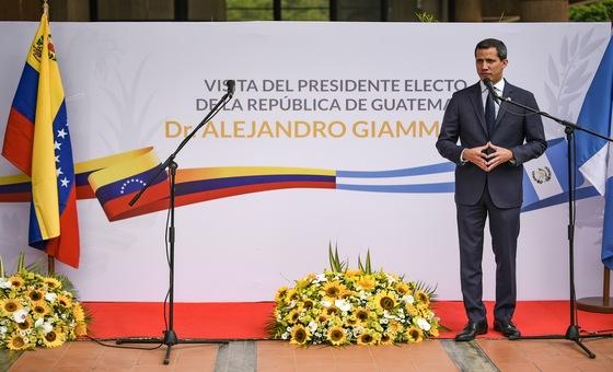 Guaidó: El gesto del presidente de Guatemala demuestra que no estamos solos