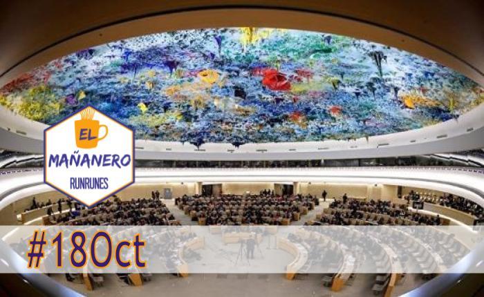 El Mañanero de hoy #18Oct: Las 8 noticias que debes saber