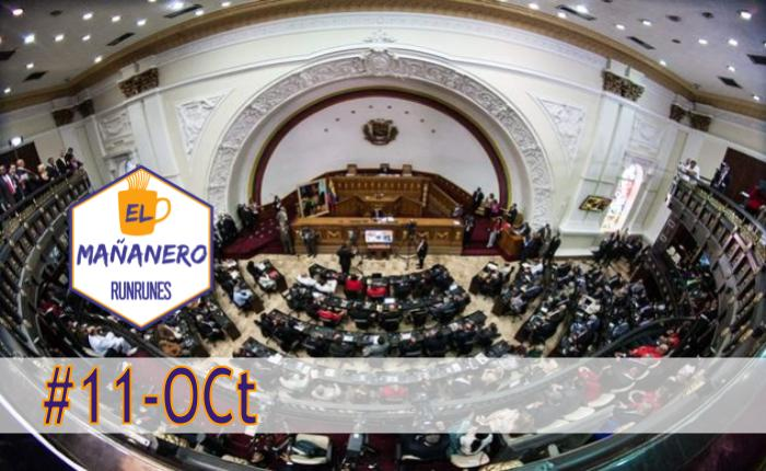 El Mañanero de hoy #11-Oct: Las 8 noticias que debes saber