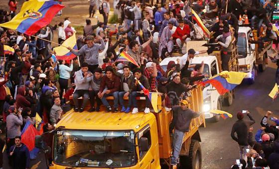 Diario español revela conexión venezolana con protestas en Ecuador