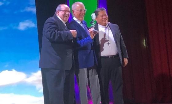 Nelson Bocaranda recibió premio Monseñor Pellín 2019 como personaje del año