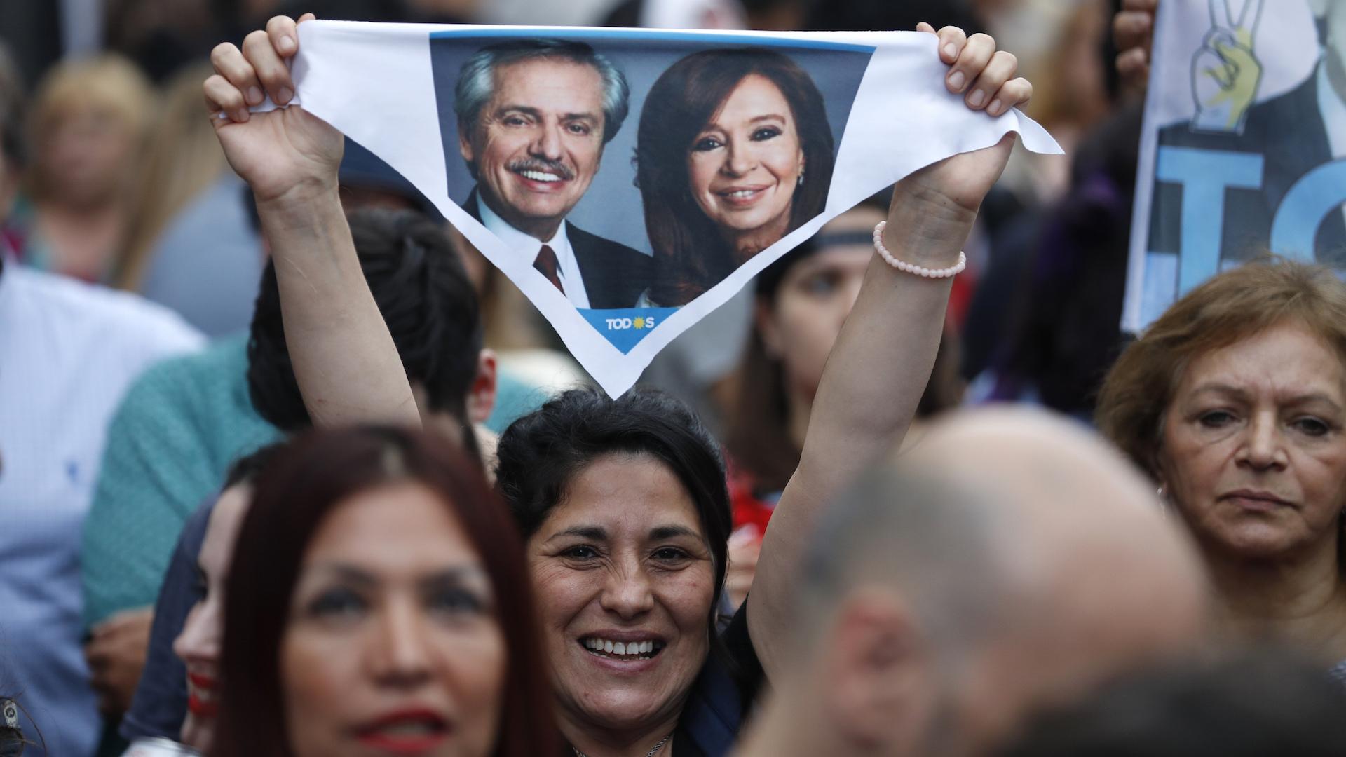 Alberto Fernández gana elecciones presidenciales en Argentina, según primeros datos oficiales