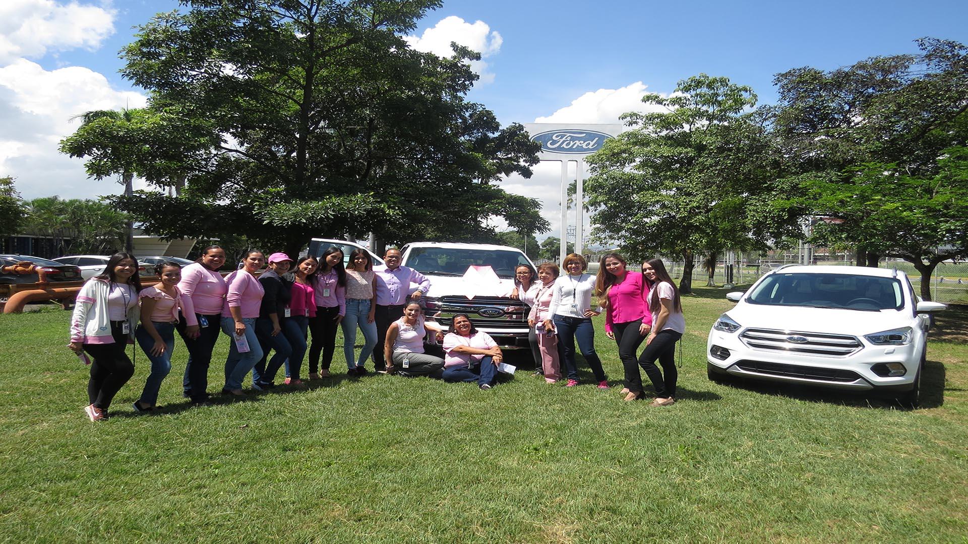 Ford Motor de Venezuela se sumó a la lucha contra el cáncer de mama