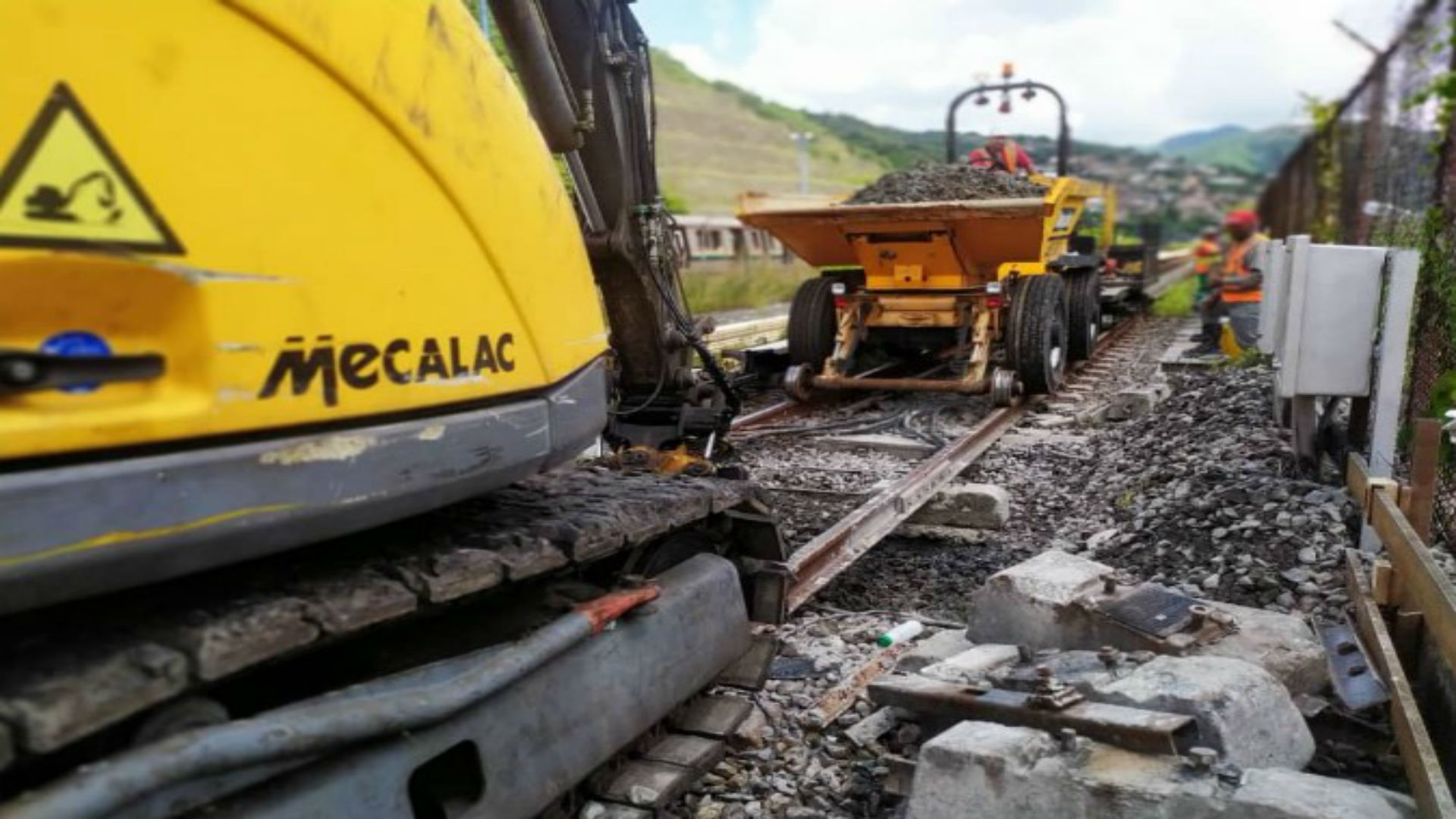 Rehabilitación de estaciones Las Adjuntas y Ruiz Pineda durará 40 días