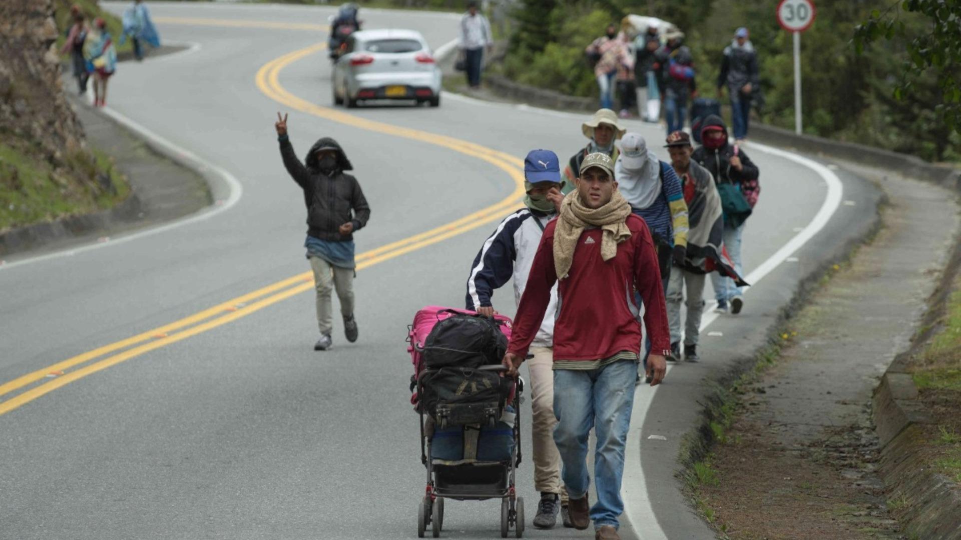 Acnur estima que en 2020 el número de refugiados venezolanos aumentará a 6,5 millones