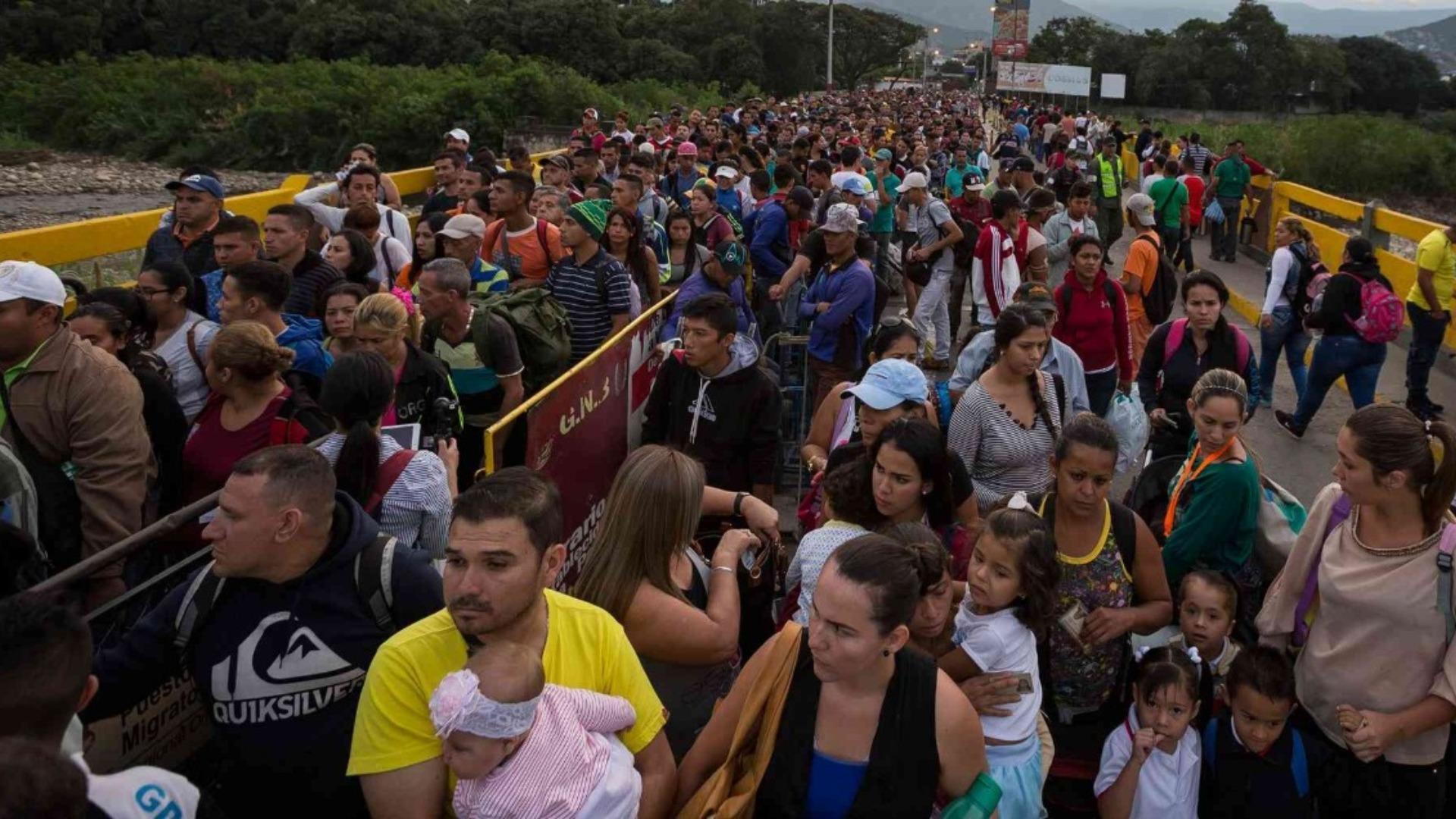 14 millones de personas se movilizaron por San Antonio del Táchira durante 2019