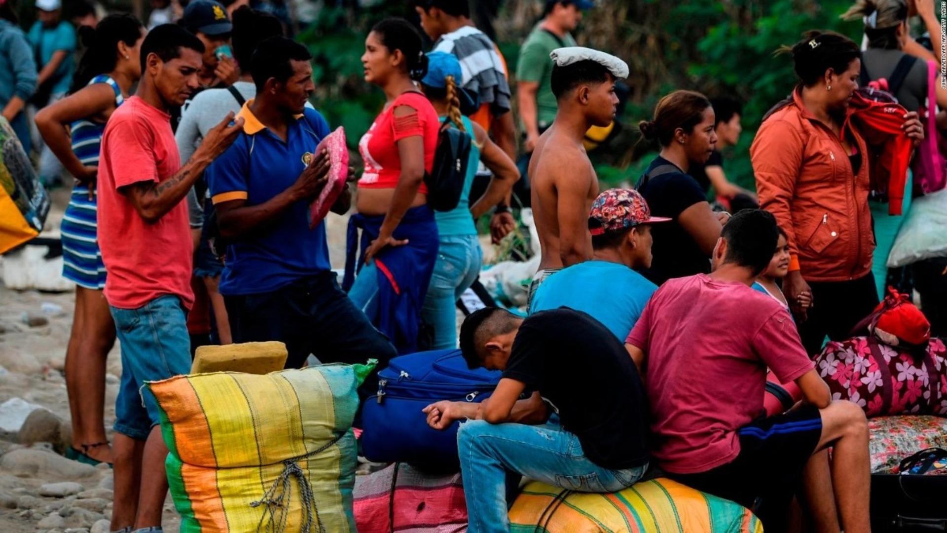América Latina necesita 370 millones más para atender la crisis migratoria venezolana