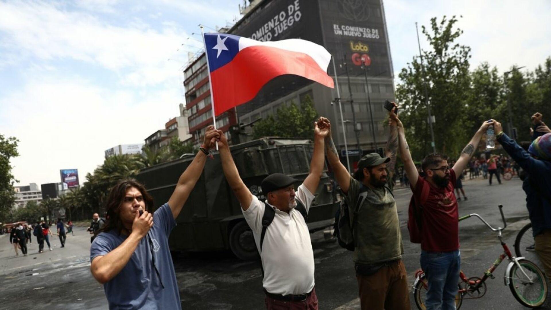 TSJ en el exilio condena destrozos por protestas en Chile