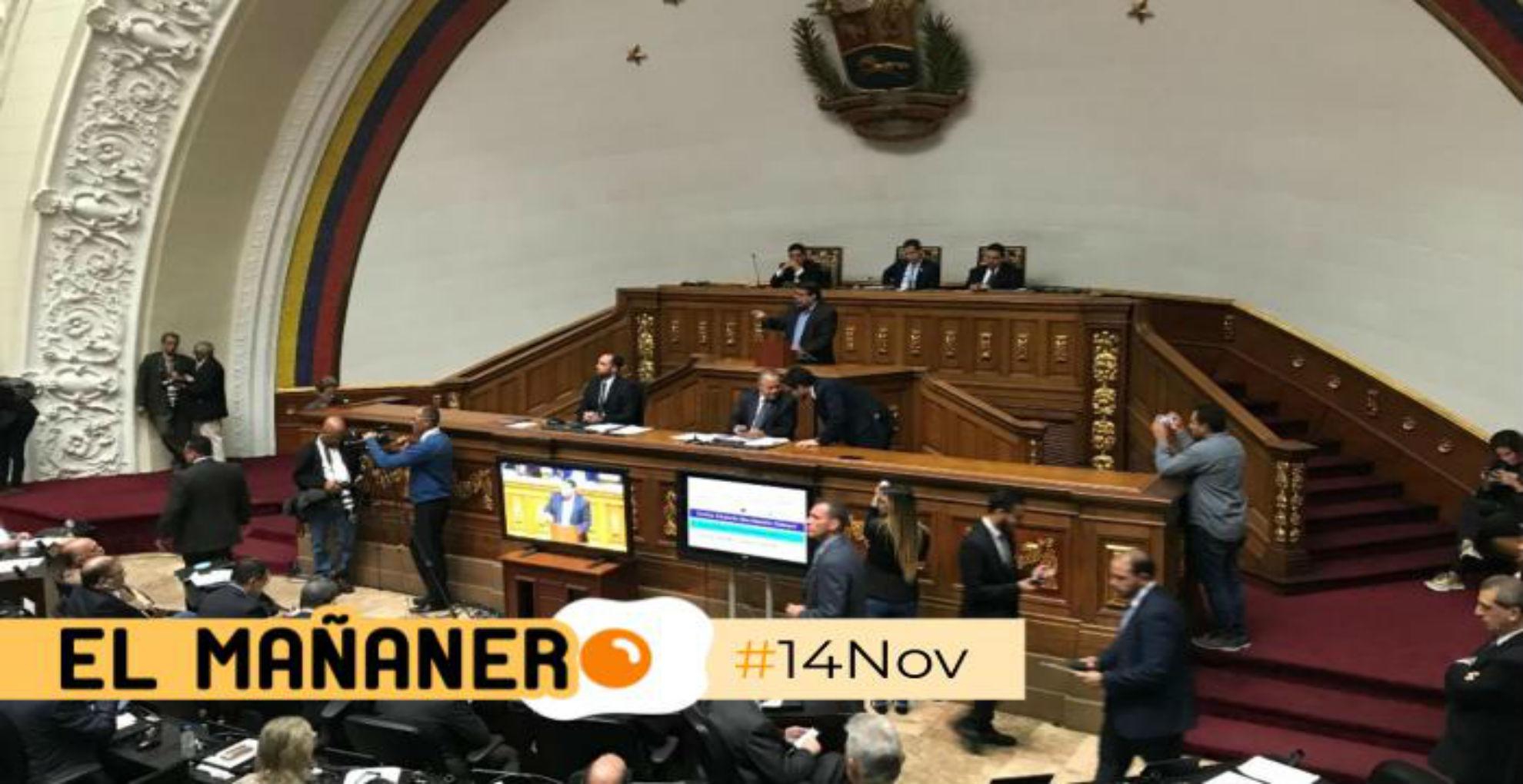 El Mañanero de hoy #14Nov: Las 8 noticias que debes saber
