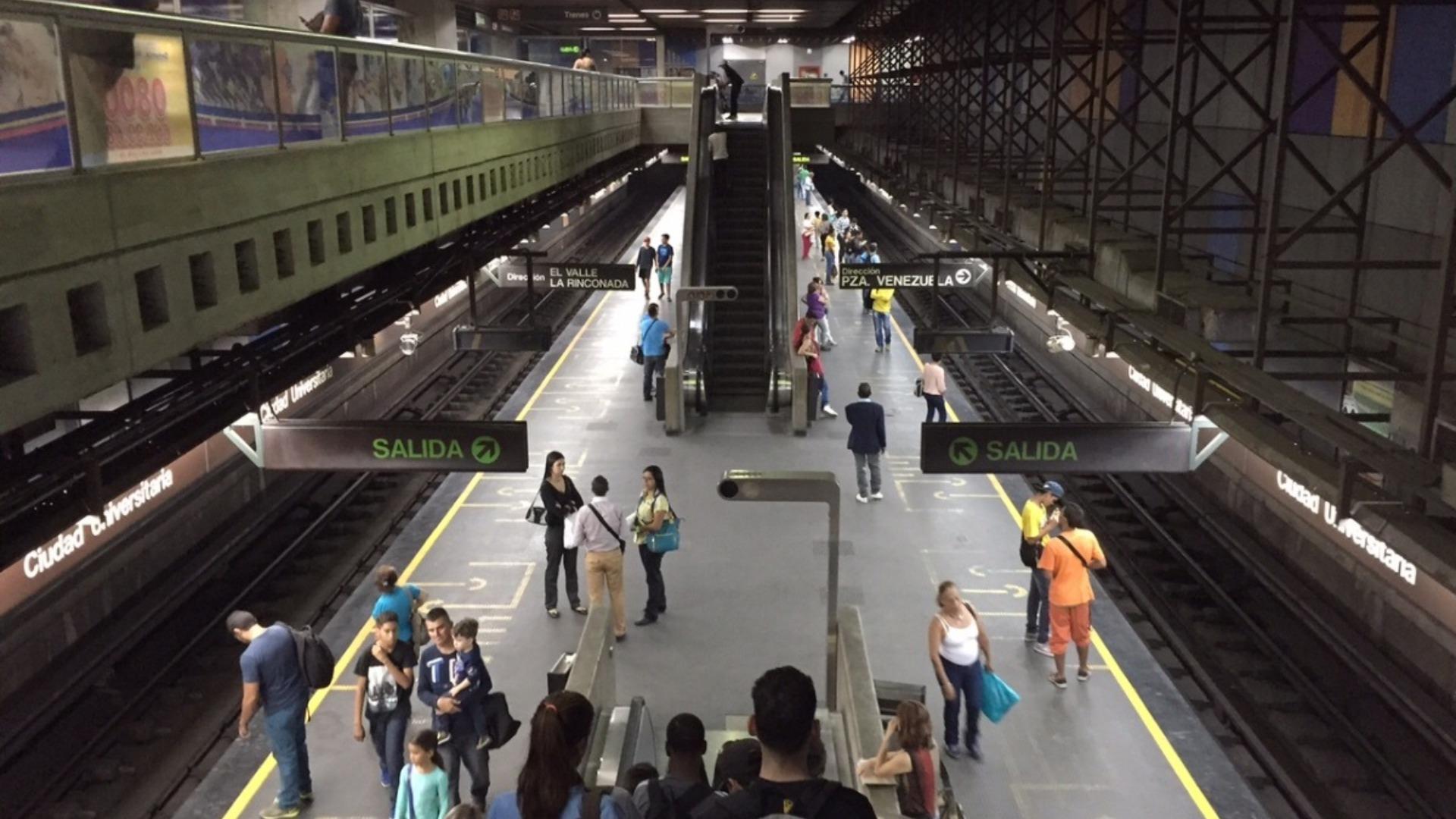 Metro de Caracas activará pago automatizado a partir del 2020