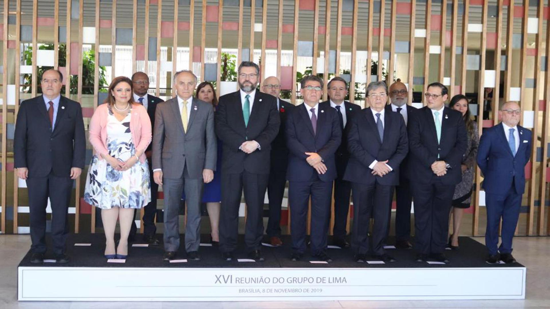 Grupo de Lima insiste en elecciones presidenciales en Venezuela