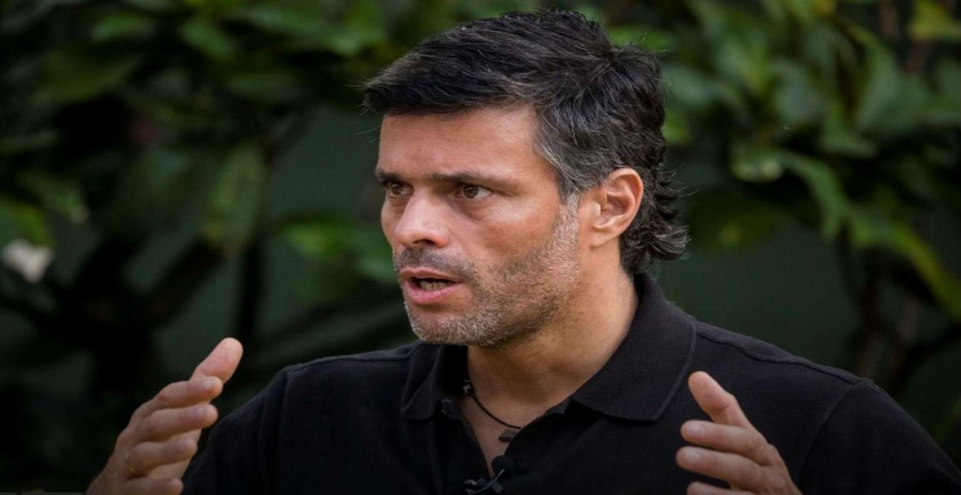 Leopoldo López culpa a Maduro por irrupción en su partido y llama a protestar