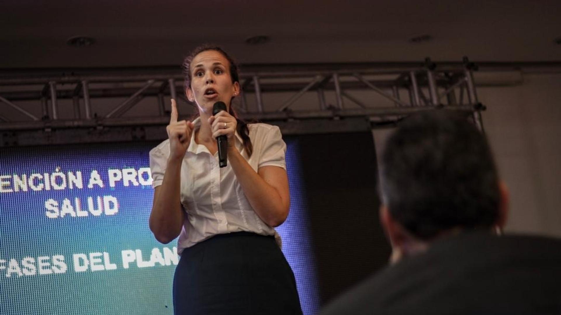 Manuela Bolívar: Usurpadores del régimen son los principales promotores de la violencia contra la mujer
